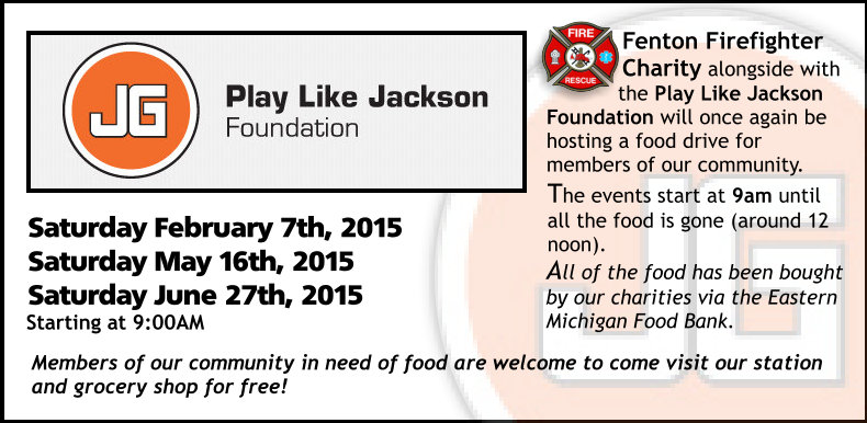 Jackson Foundation Food Drive 2015