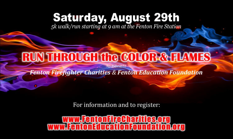 Run Through The Color and Flames 2015 Sign up