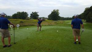 Duff Golfing